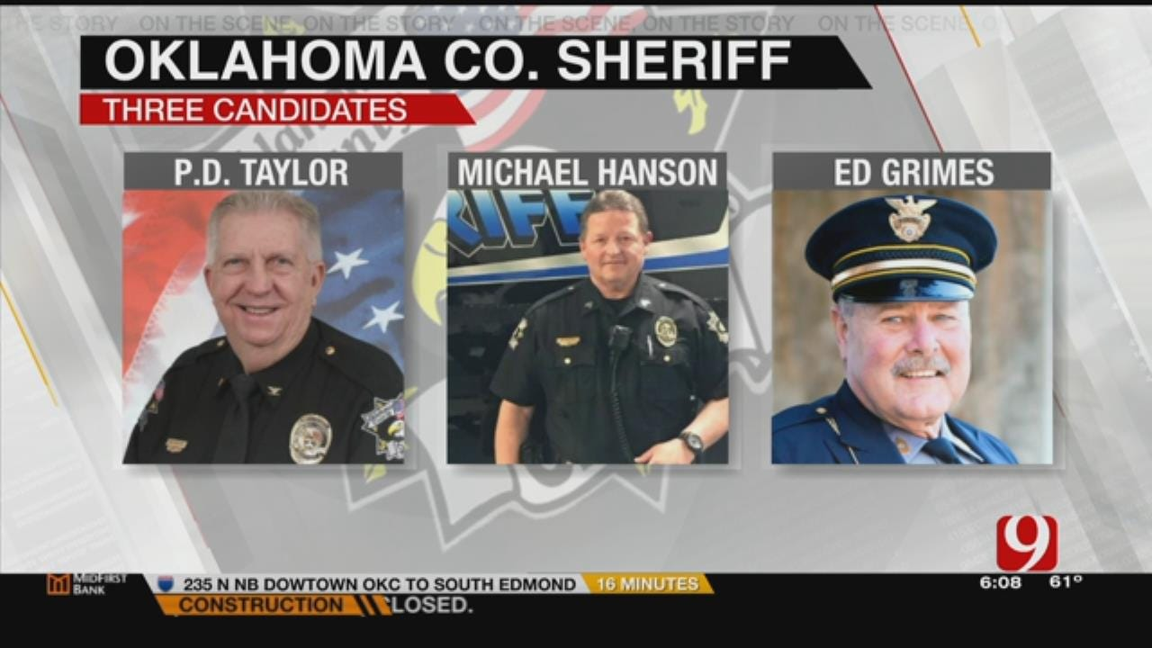 Oklahoma Co. Residents To Vote For New Sheriff