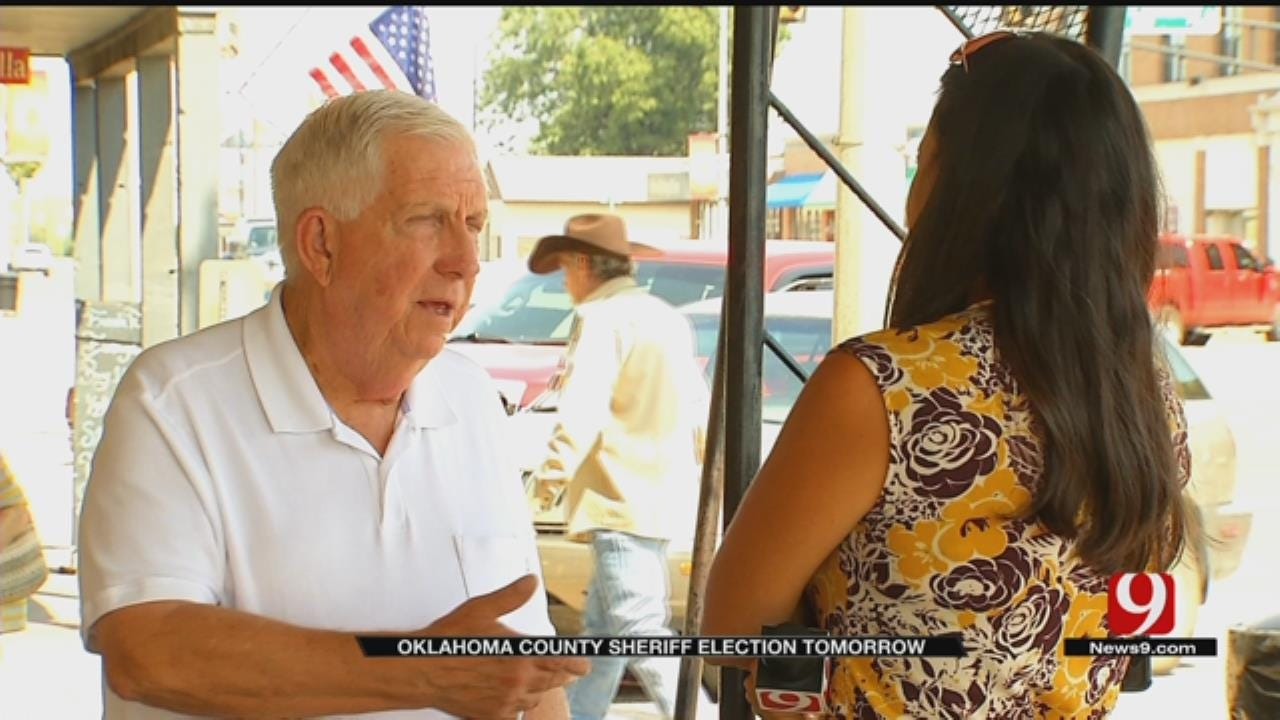 New Oklahoma County Sherriff To Be Decided By Vote Tuesday