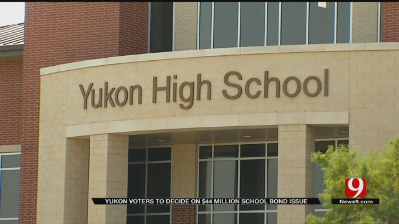 Yukon Schools Ask Voters To Approve Bonds