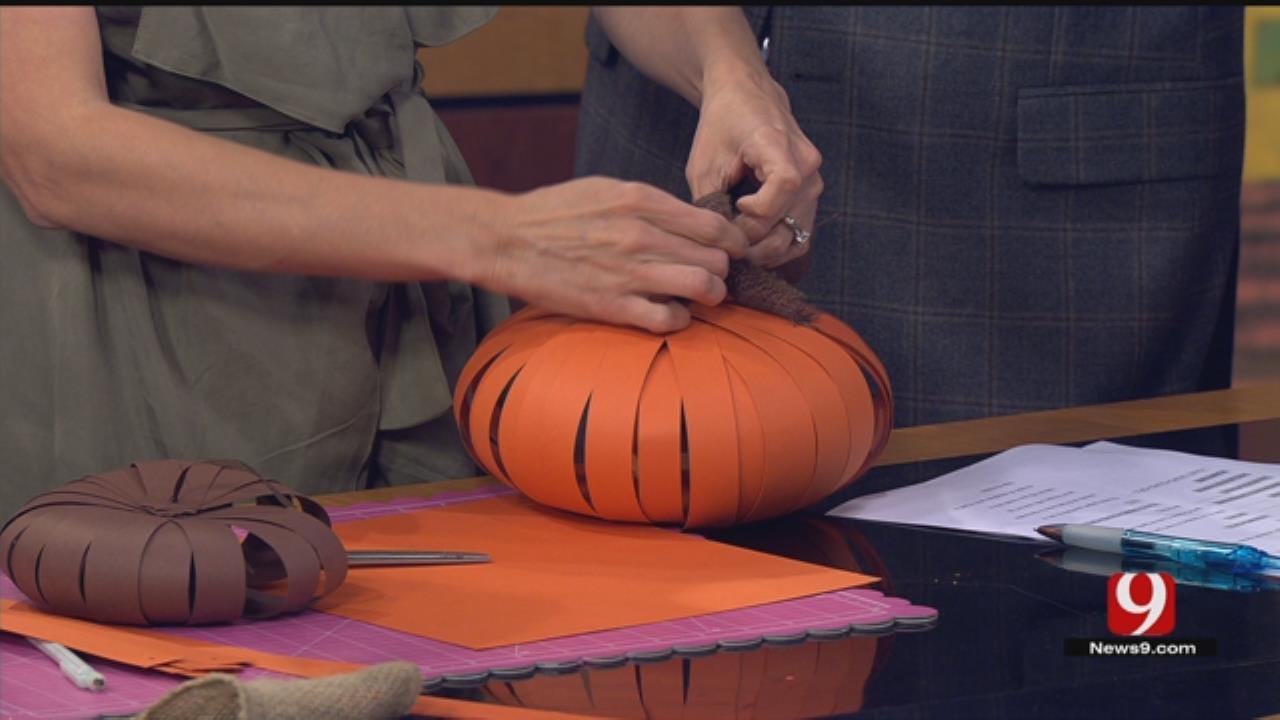 Pins & Projects: Paper Pumpkins