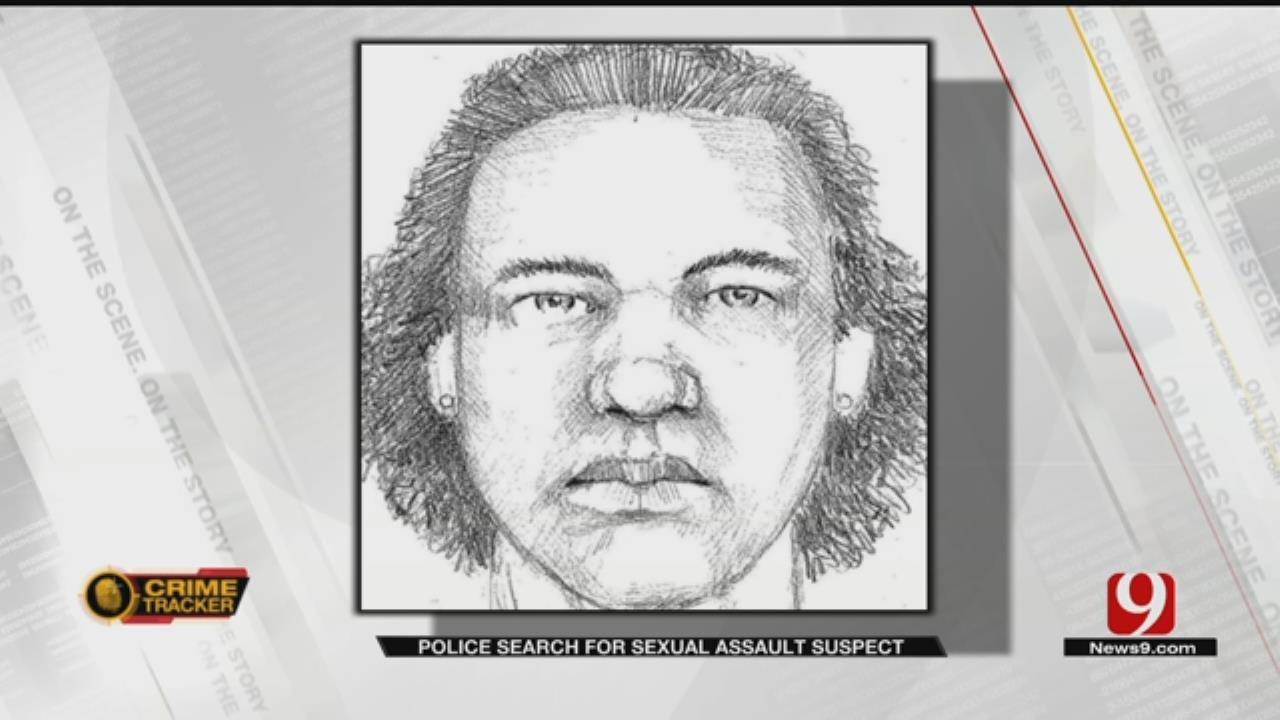 OKC Police Release Sketch Of Sexual Assault Suspect