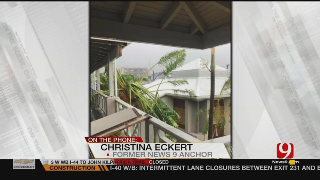 WEB EXTRA: Former News 9 Anchor Talks About Irma