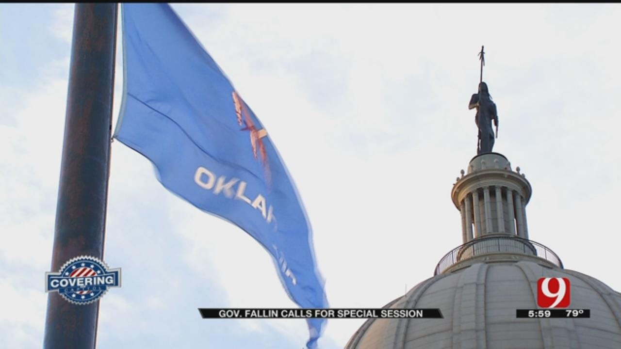 Fallin Announces Plan To Call For Special Legislative Session