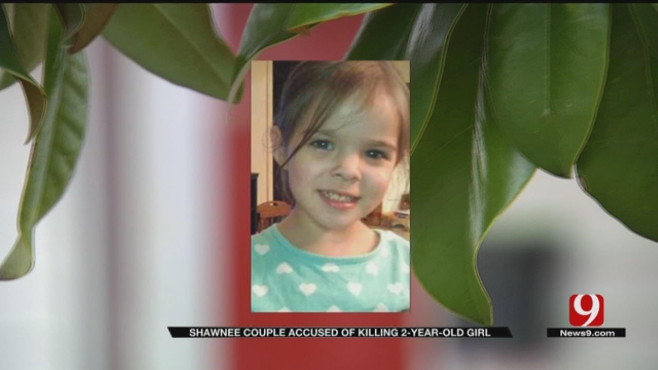 Shawnee Couple Accused In Killing 2-Year-Old Girl