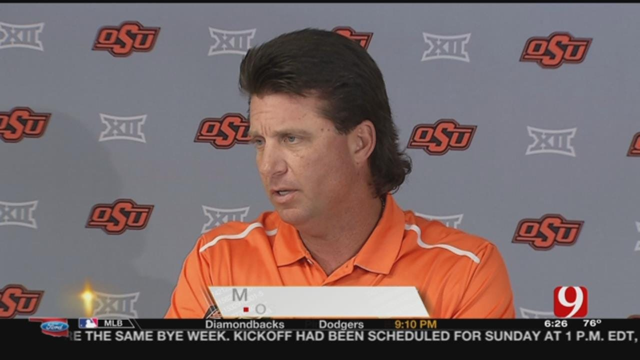 Gundy Happy With OSU's Balanced Attack