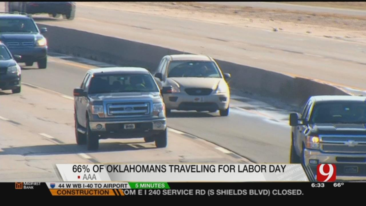 Gas Prices Go Up As Oklahomans Travel On Labor Day