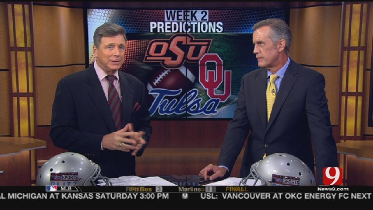 Dean And John Give Their College Football Predictions
