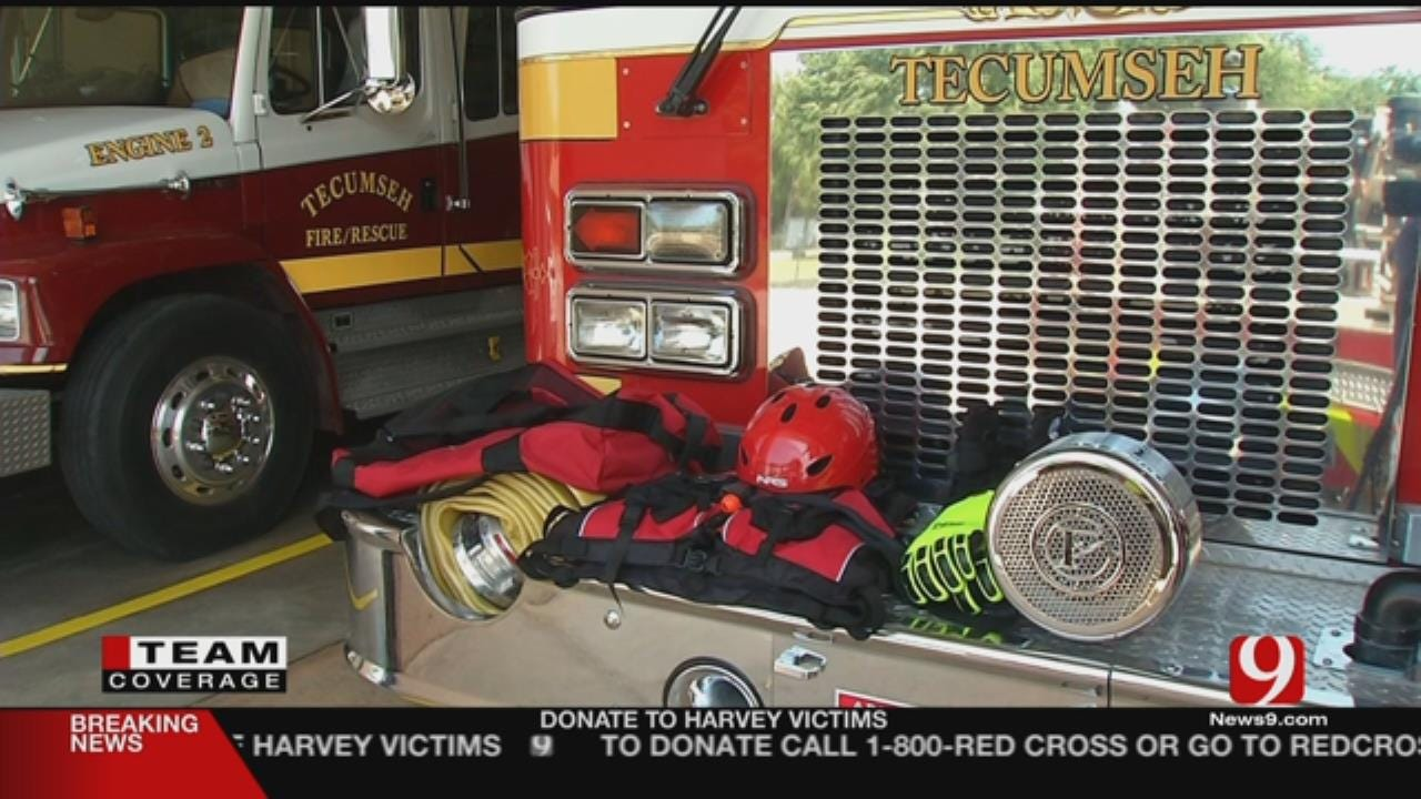 Oklahoma Fire Crews Took Off For Texas Wednesday Morning