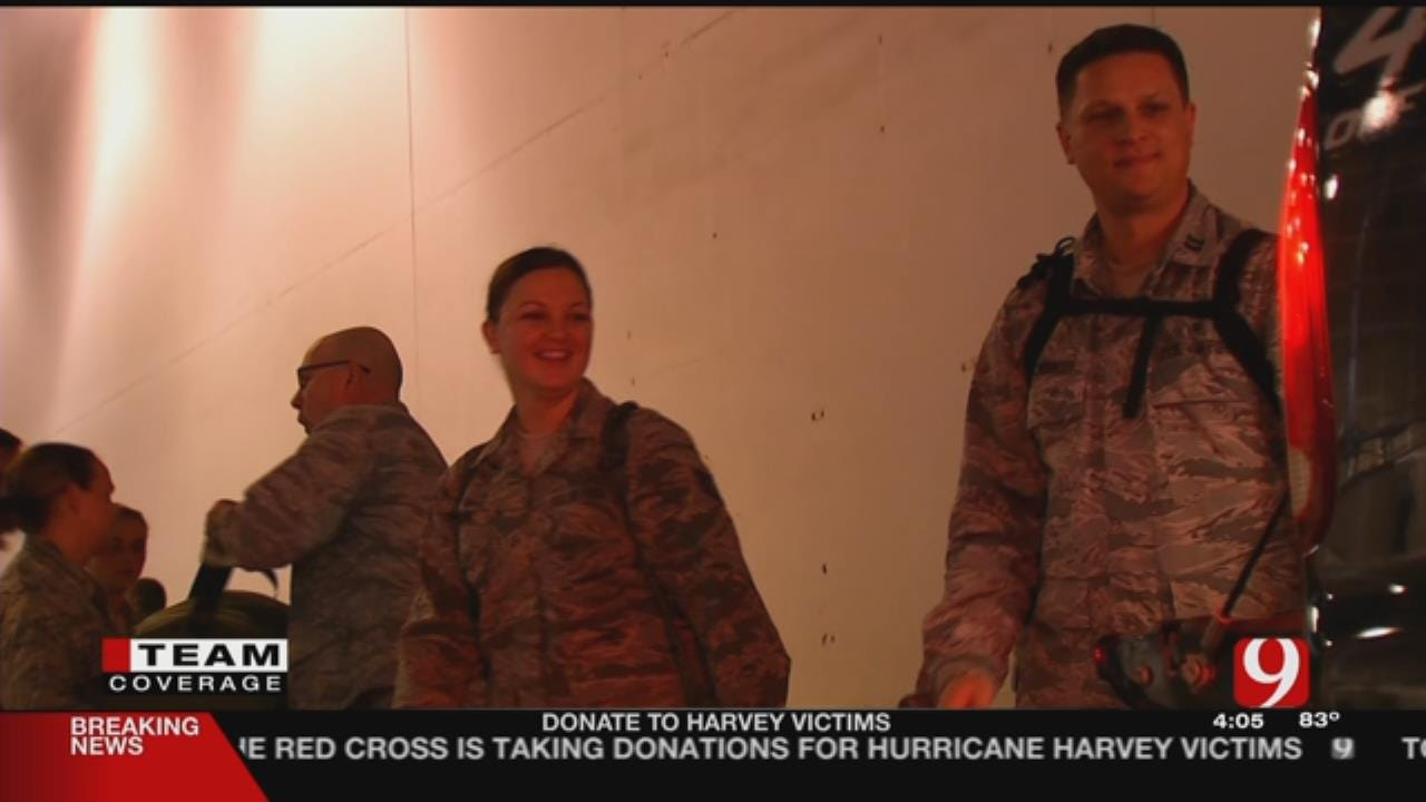 OK National Guard Leading The Charge To Help Harvey Victims
