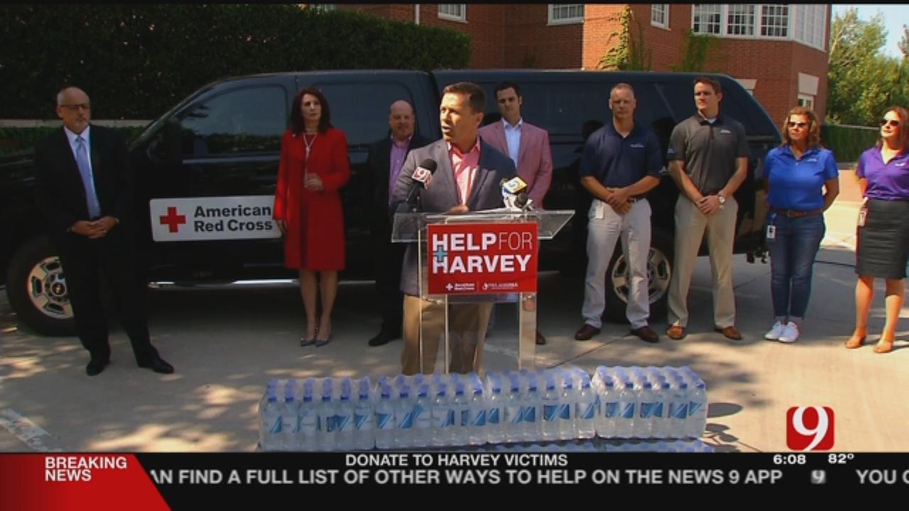 Oklahoma Oil & Gas Companies Host Public Donation Drive For Harvey Victims