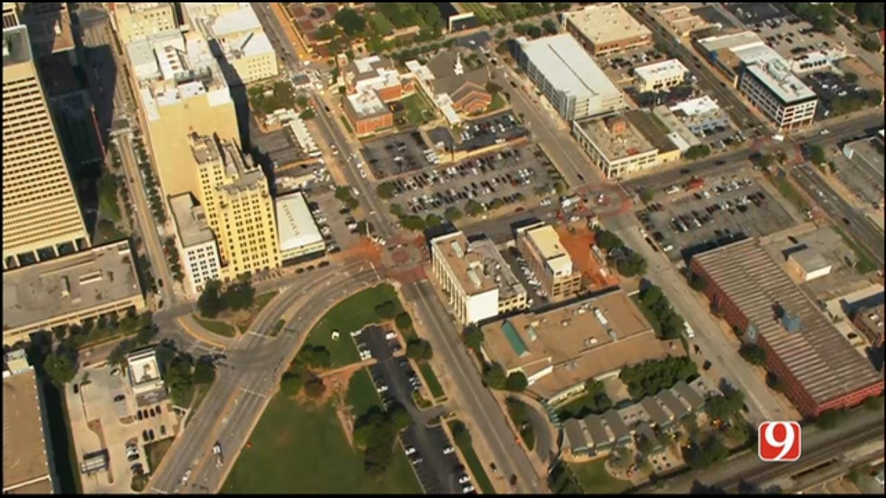 WEB EXTRA: Gas Leak Forces Evacuation Of Entire Downtown OKC Block