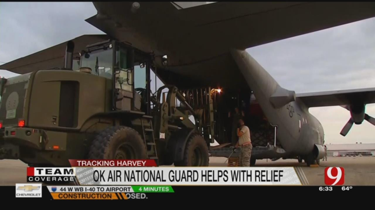 Grant Hermes Flies With Oklahoma Air National Guard