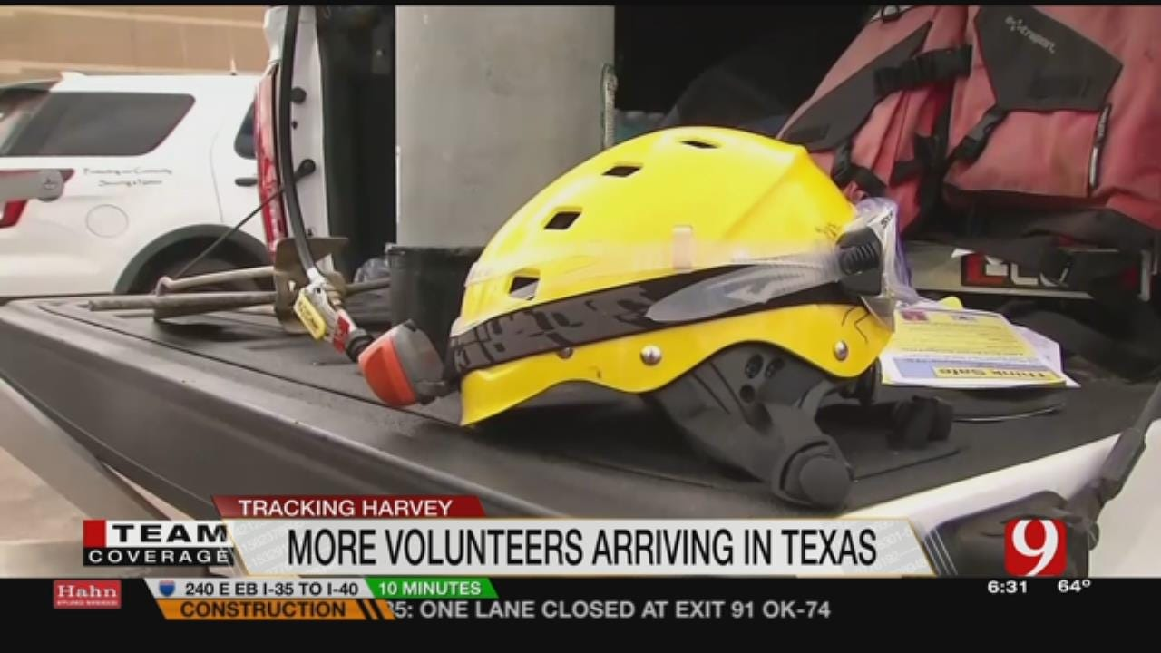 Water Rescues Continue In Harvey's Wake