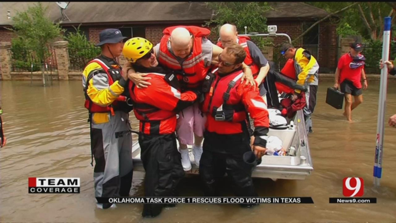 Oklahoma Water Teams Deployed To Help Flooded Out South Texas