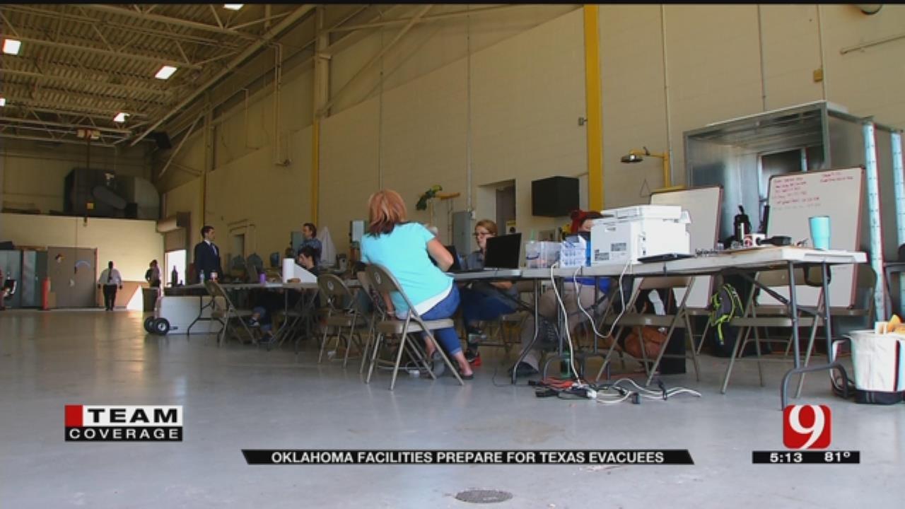 Oklahoma Ready For Hurricane Harvey Victims