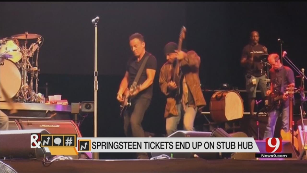 Trends, Topics & Tags: Bruce Springsteen Tickets