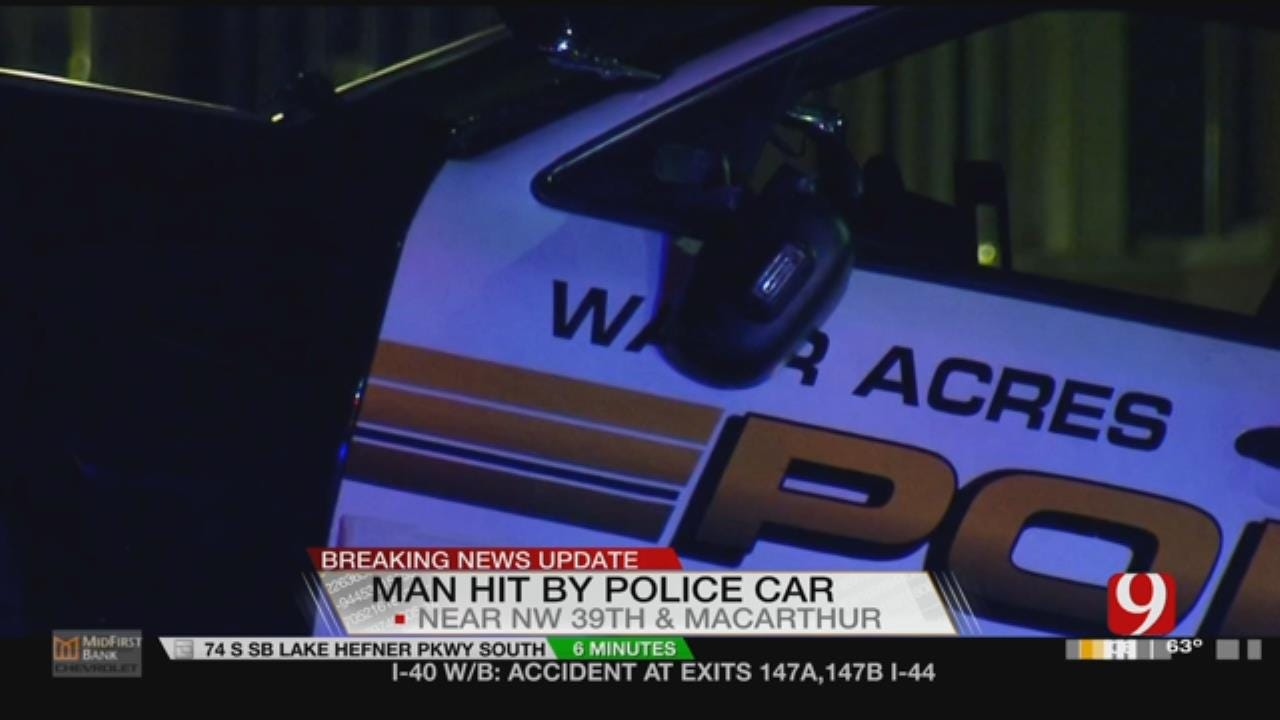 Auto-Ped Crash Involving A Police Officer Reported In Warr Acres