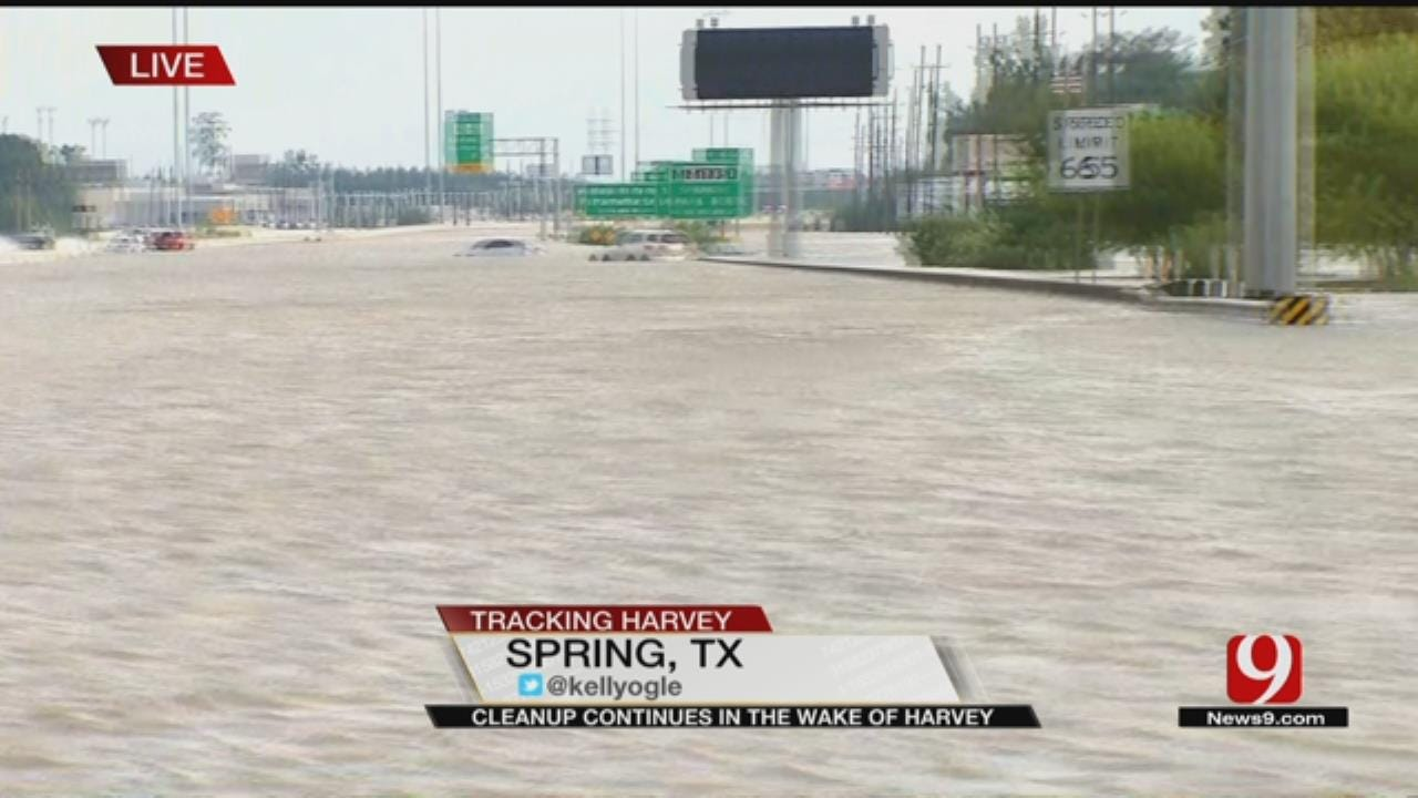Flooded Interstate Causes Fatality, Stalled Out Vehicles