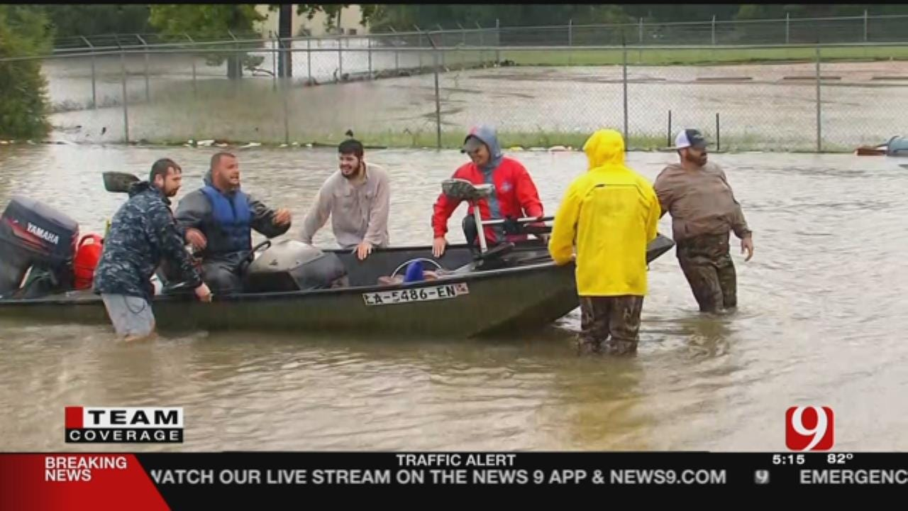 Boats Continue Rescues As More Texans Look To Escape Harvey