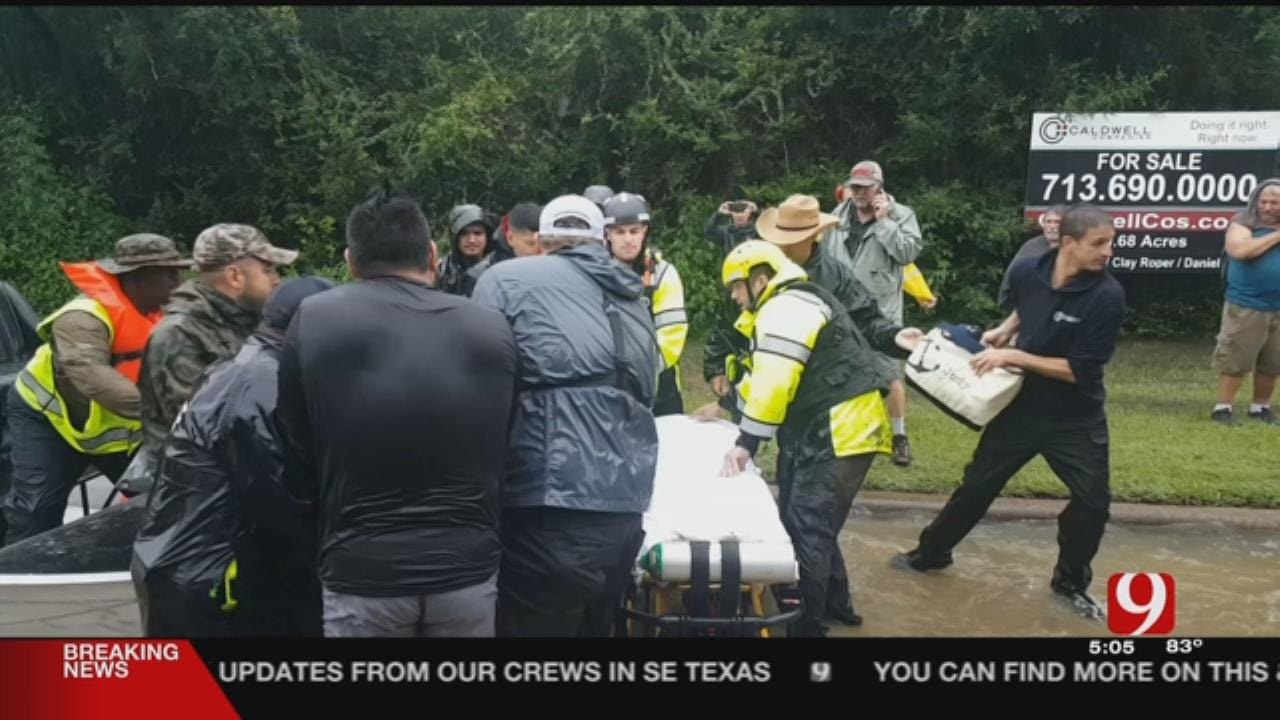 Val: Dozens Aid Houston Stroke Victim