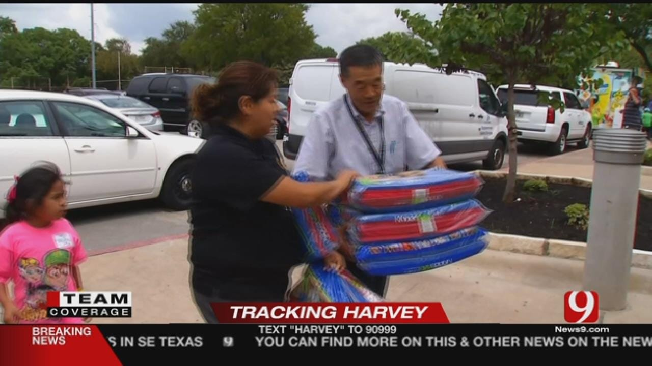 Grant: Dallas Gym Houses 300 Escaping Harvey