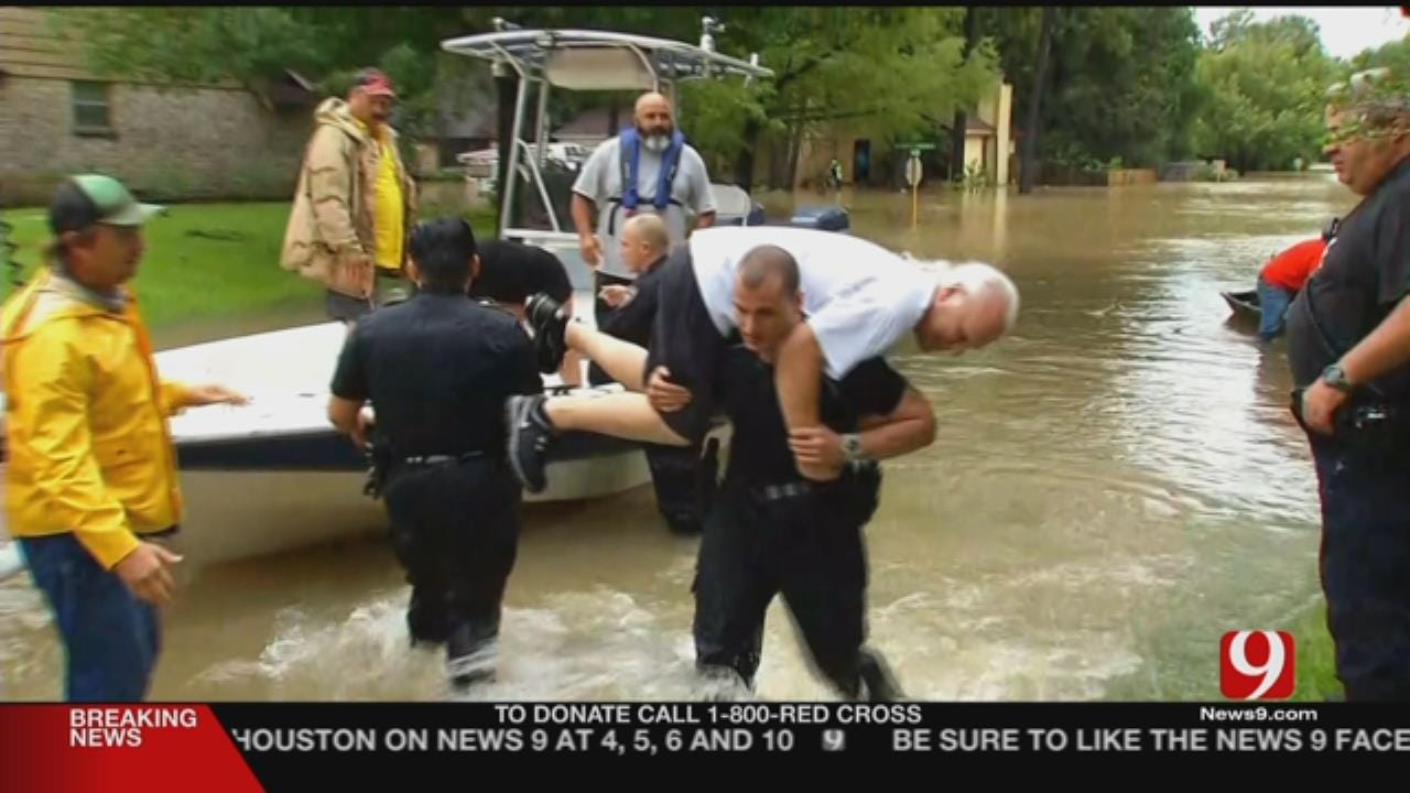 Kelly: Rescues Continue As Houston Residents Flee Harvey Floodwaters