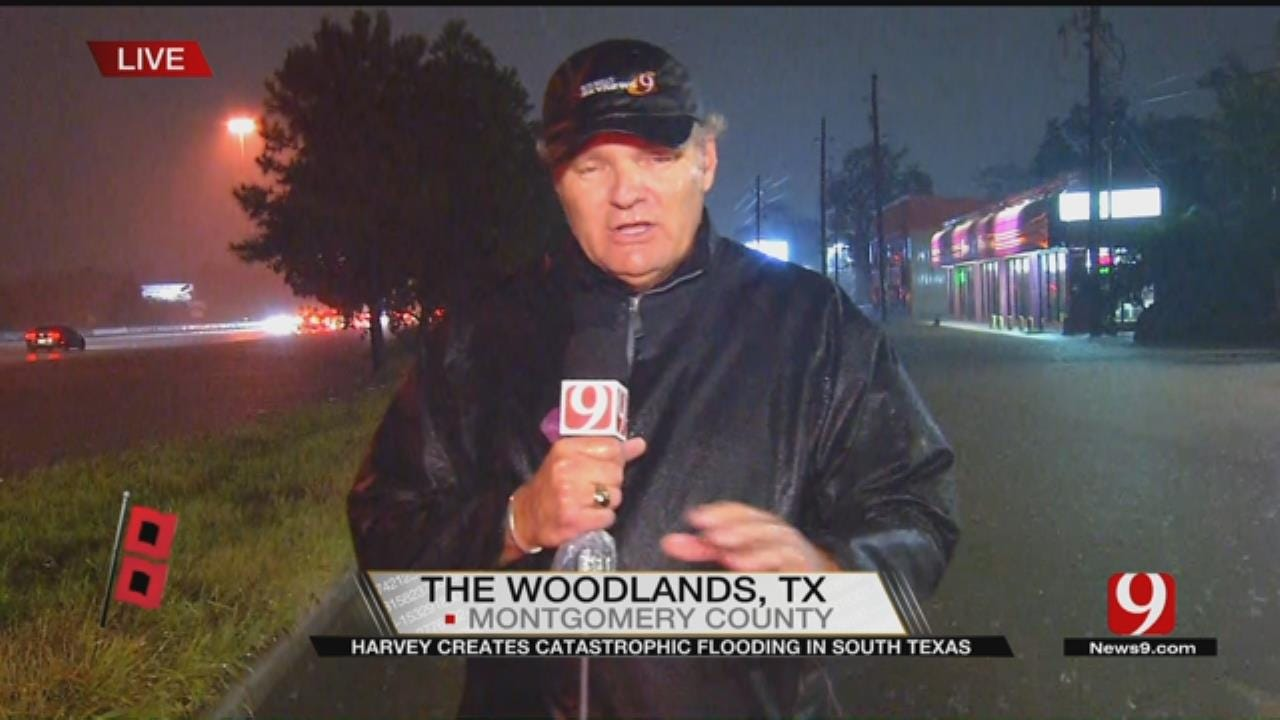 TEAM COVERAGE: Harvey Continues To Dump Rain Onto SE Texas