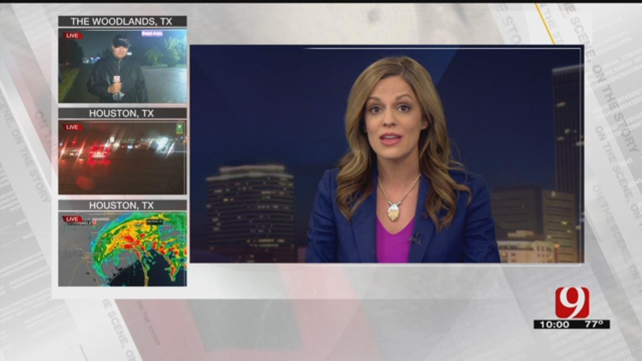 TEAM COVERAGE: News 9 Covers Harvey's Catastrophic Flooding In South Texas