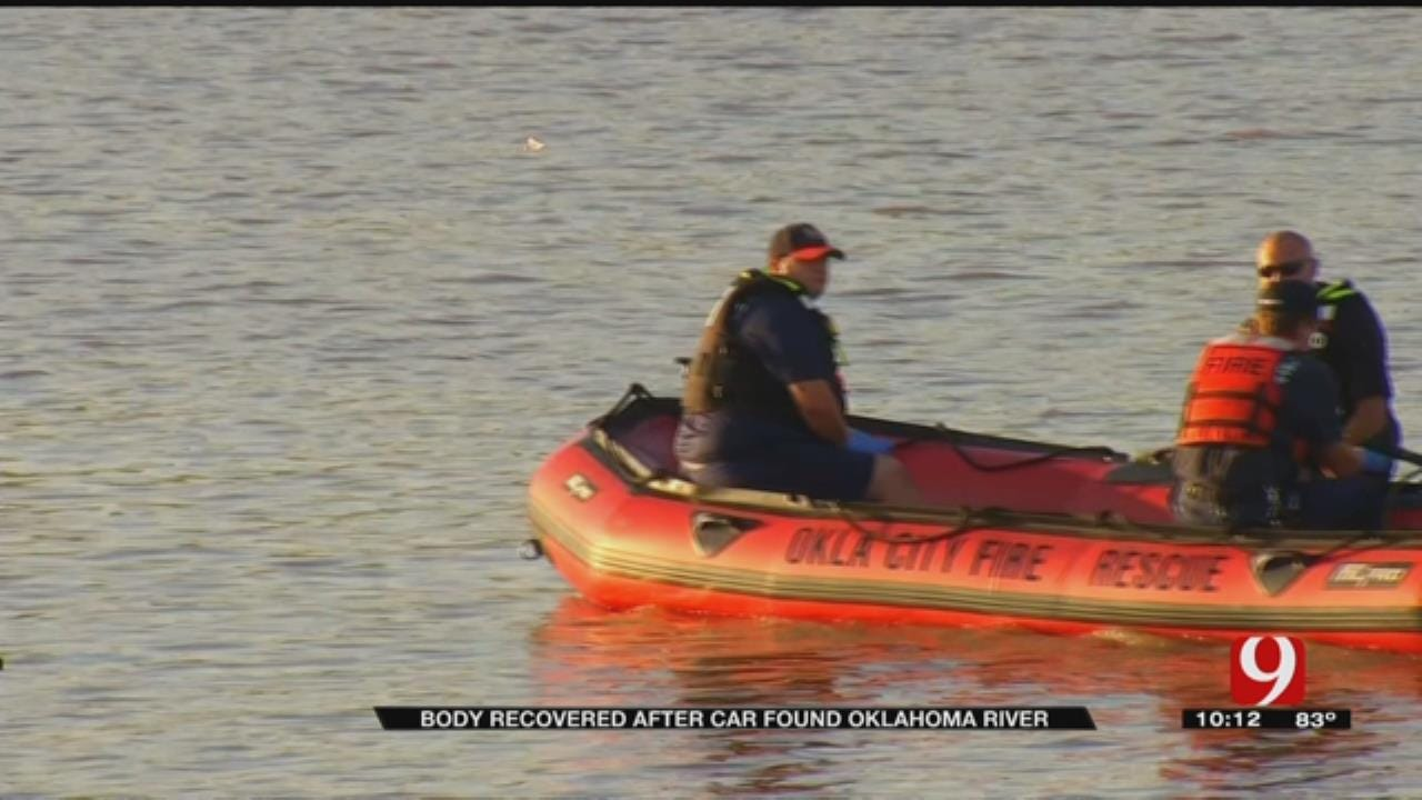 Body Found In River After Car Submerged Friday Morning