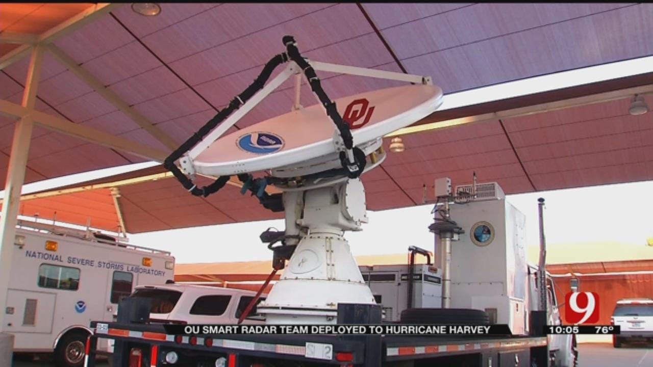 OU Smart Radar Team Deployed To Hurricane Harvey