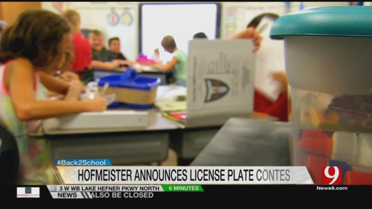 New Program Lets Students Design License Plates For Education Funding