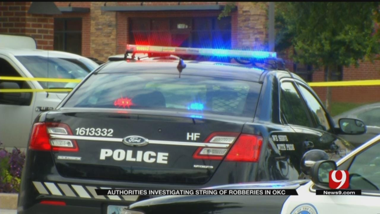 FBI Investigates String Of Bank Robberies