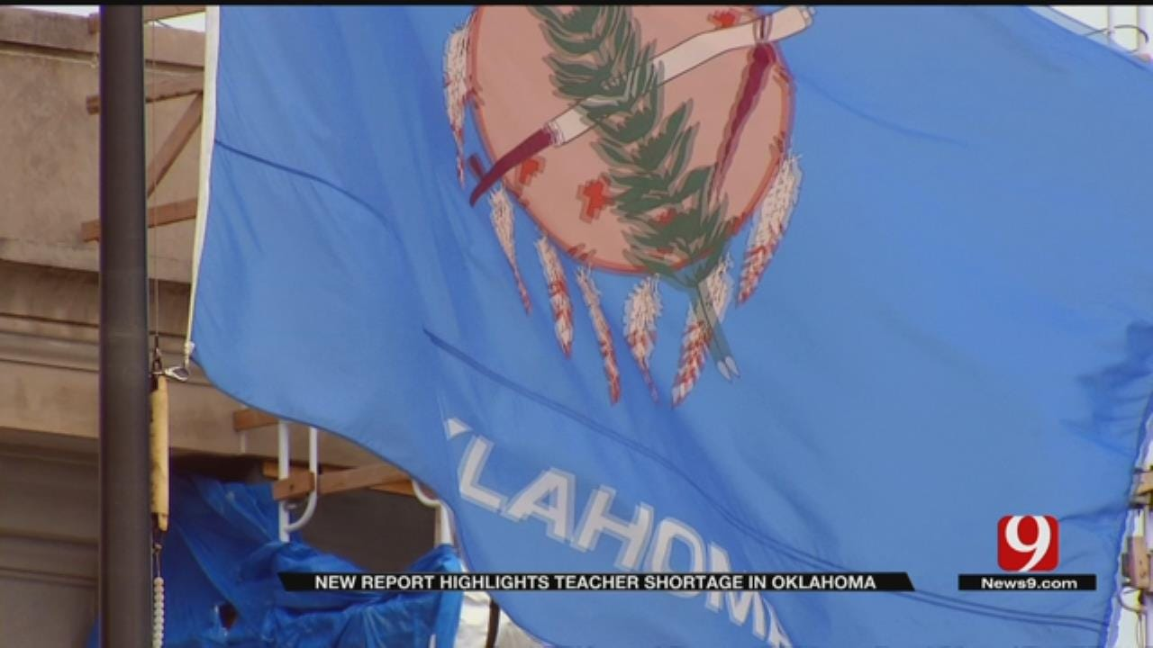 New Report Highlights Teacher Shortage In Oklahoma