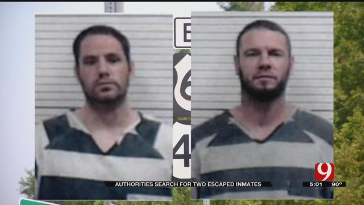 Manhunt Continues For Two Escaped Inmates In Major County