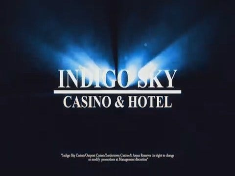 Indigo Sky Casino: Cash Bundle Pre-roll - 08/2017