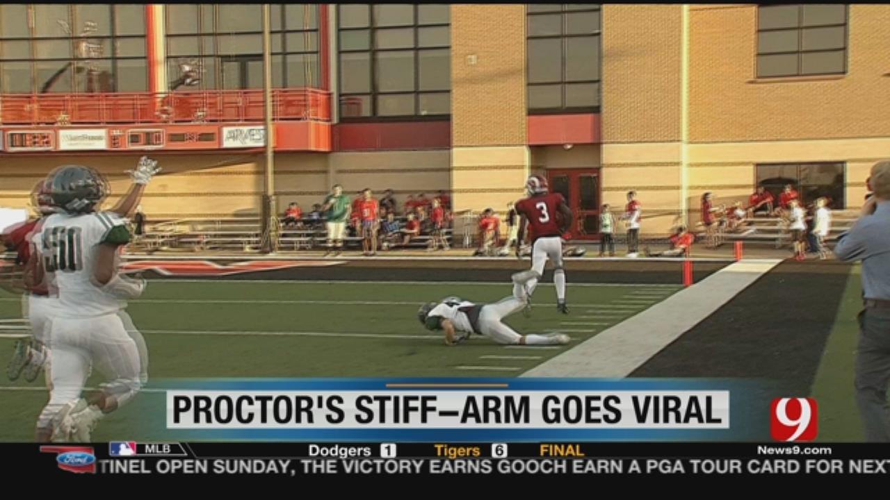 "Josh Proctor ""Stiff Arm"" Video"