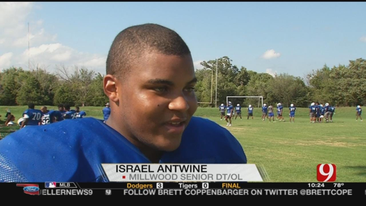 Millwood's Antwine Looking Towards Football First
