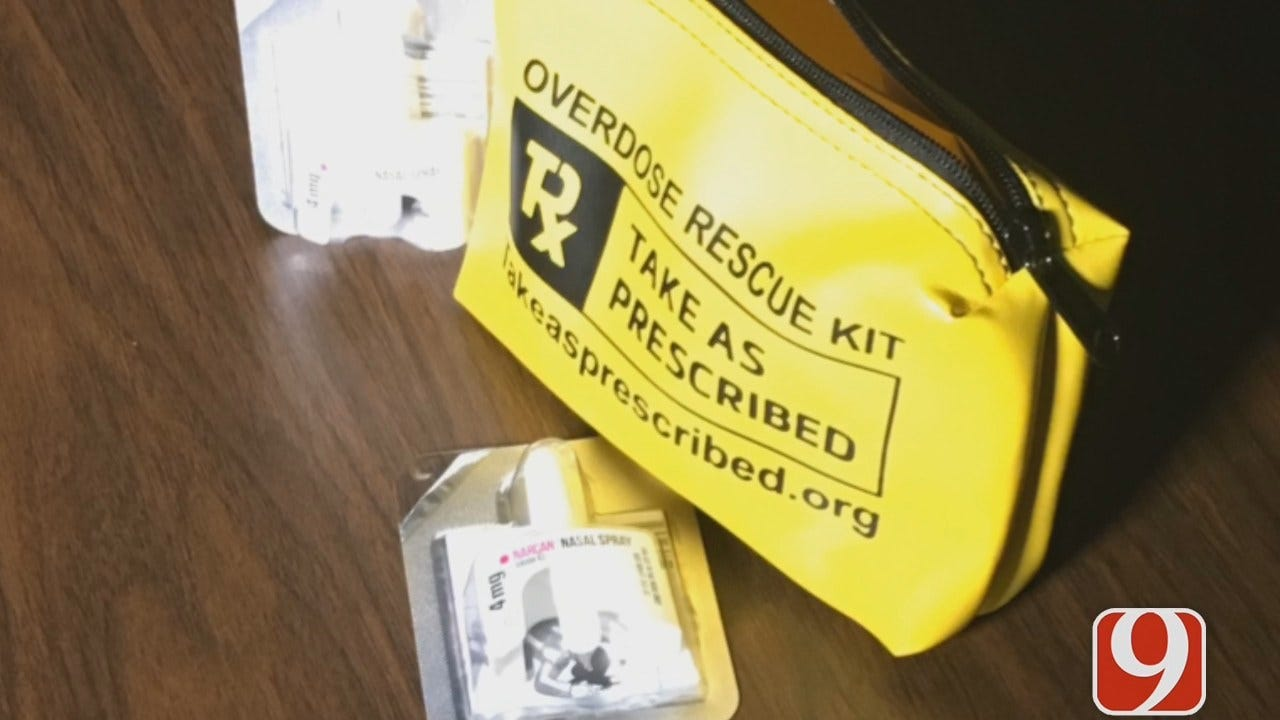 WEB EXTRA: Norman PD To Deploy Narcan Kits To All Officers
