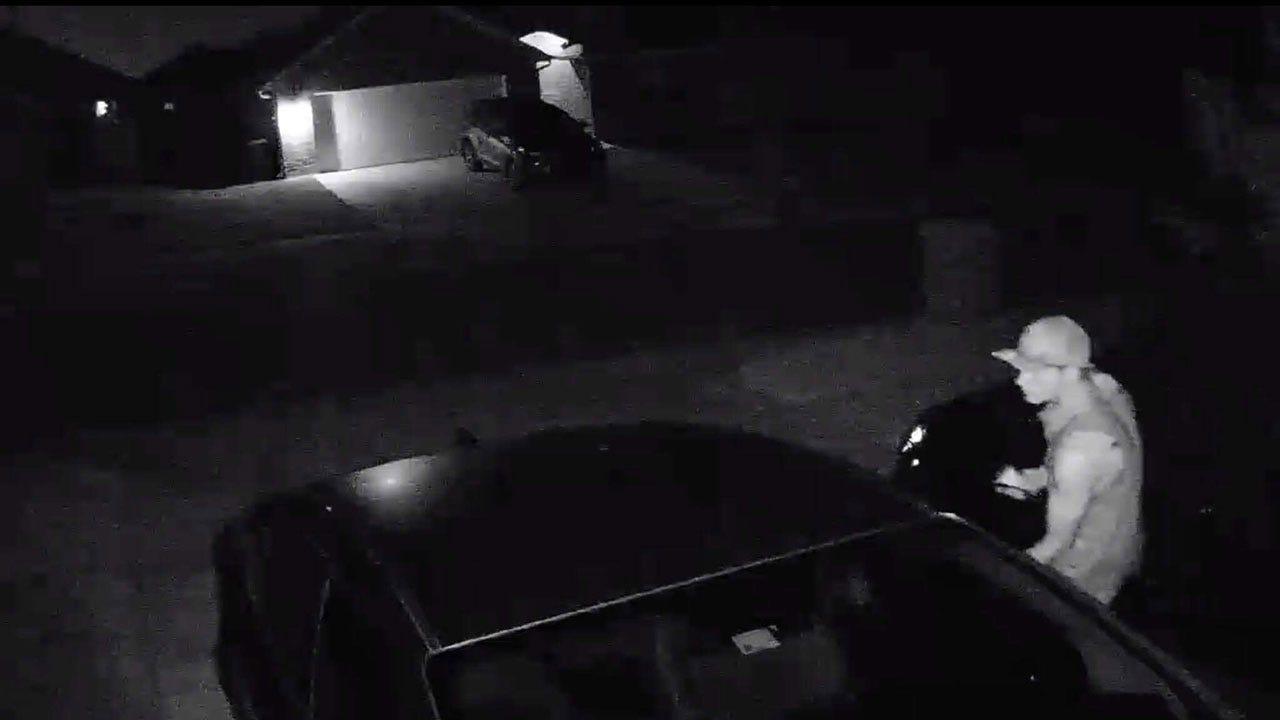Suspects Sought In Deer Creek Burglaries, Car Theft