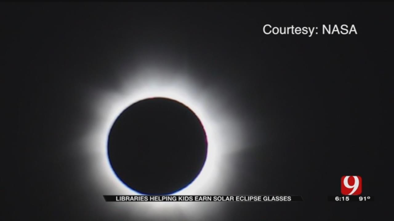 Metro Libraries Handing Out Eclipse Glasses To Students