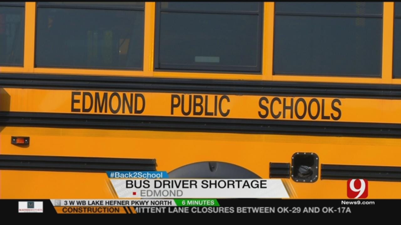 Some Edmond Students Return To School Minus A Transportation Option