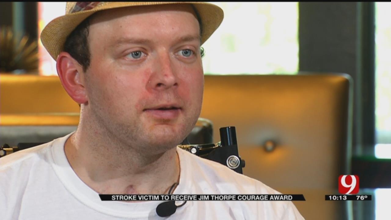 Stroke Victim To Receive Integris Baptist 'Jim Thorpe Courage Award'