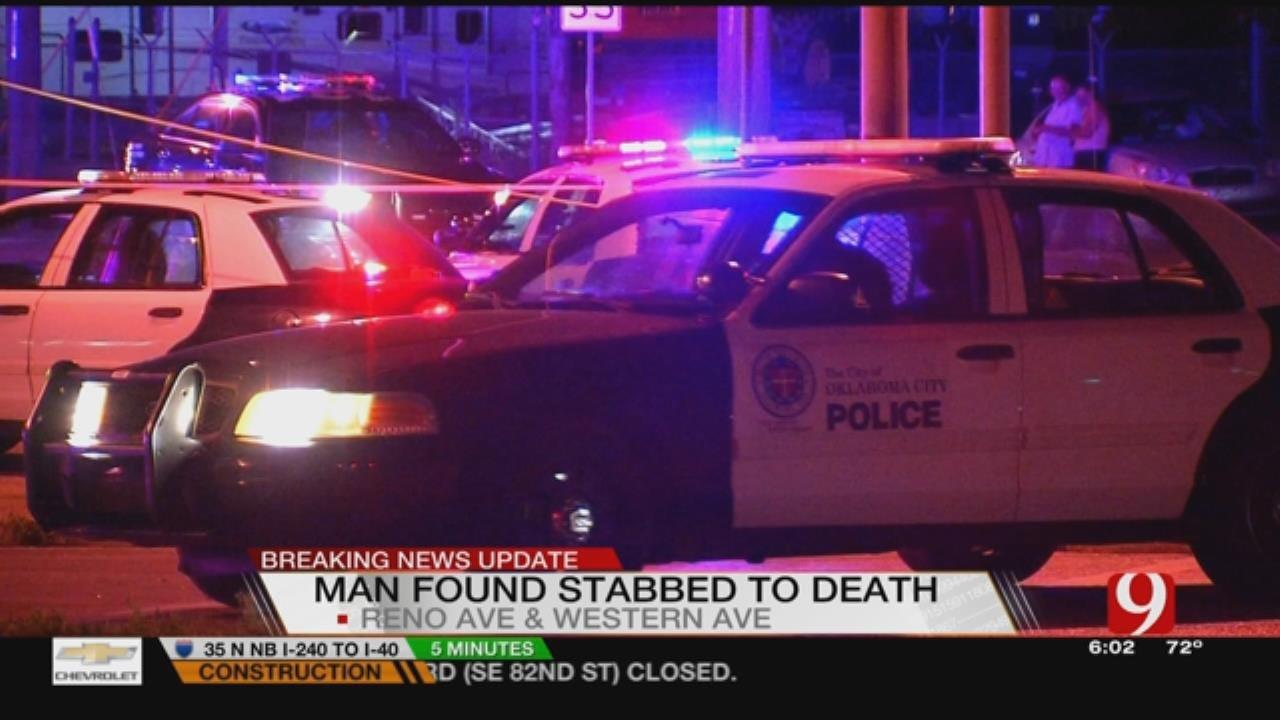 OKC Police Investigate Stabbing Death In SW OKC