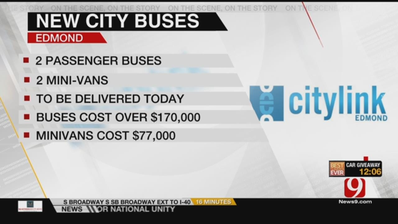 Edmond Getting New City Buses Today