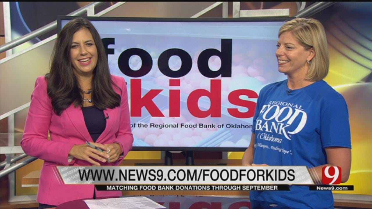Donations To Food For Kids Being Matched Through September