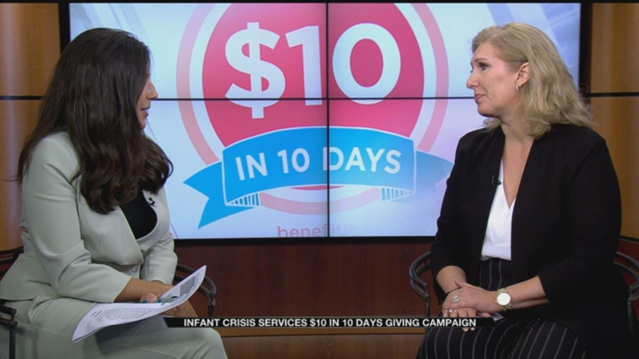 Infant Crisis Services '$10 In 10 Days' Campaign