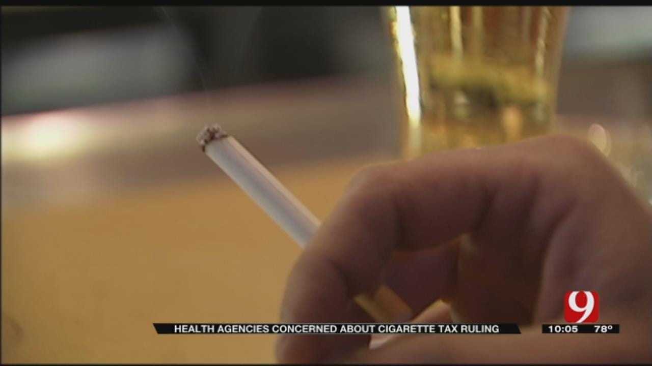 State Health Agencies Concerned About Cigarette Tax Ruling
