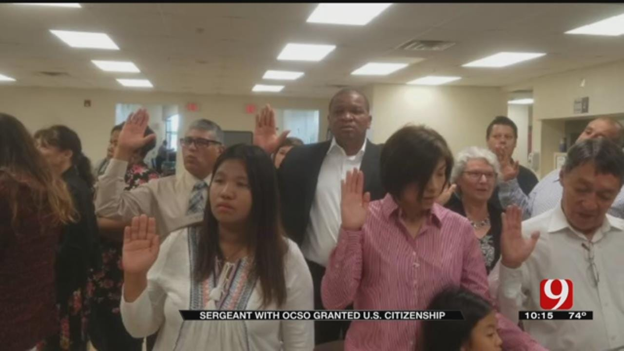 OCSO Sergeant Becomes U.S. Citizen
