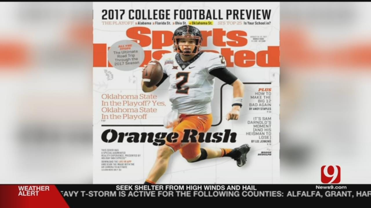 OSU QB On Sports Illustrated