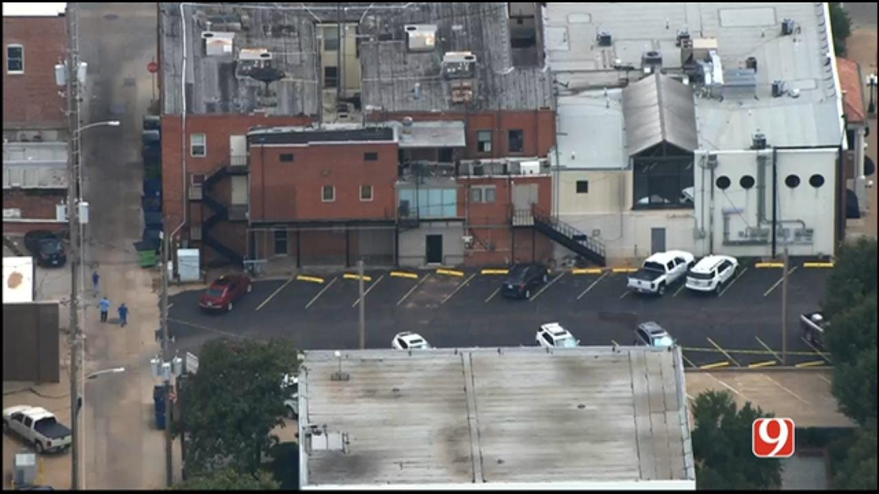 WEB EXTRA: SkyNews 9 Flies Over Deadly Shooting In Downtown Stillwater